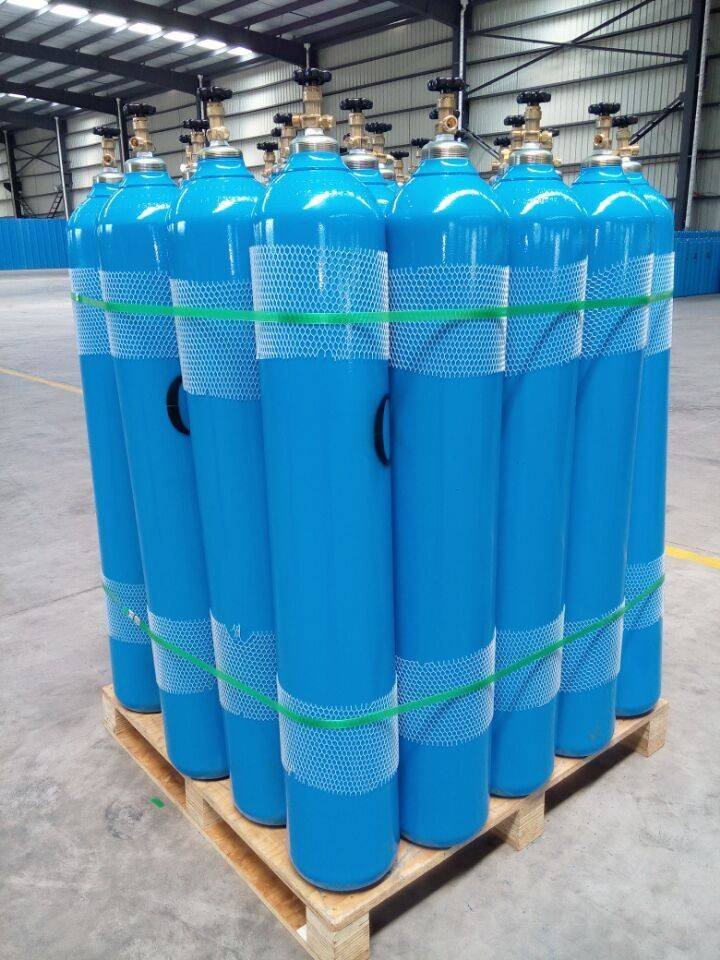 40l Seamless steel gas cylinder