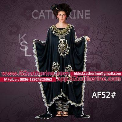 Latest Front Short Back Long Black Butterfly Laciness Embroidery Beaded Formal Abaya Frock Dress