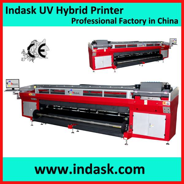 Indask roll to roll uv printer R3300