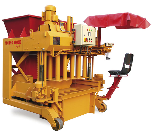 BLOCK MAKING EGG LAYING MACHINE MODEL: 200-250B/H