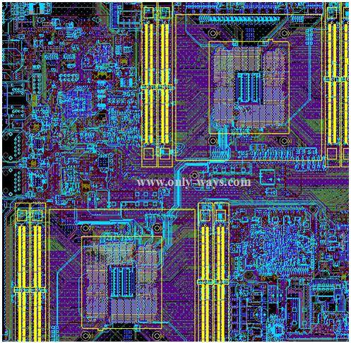 X86 structure products pcb design,layout