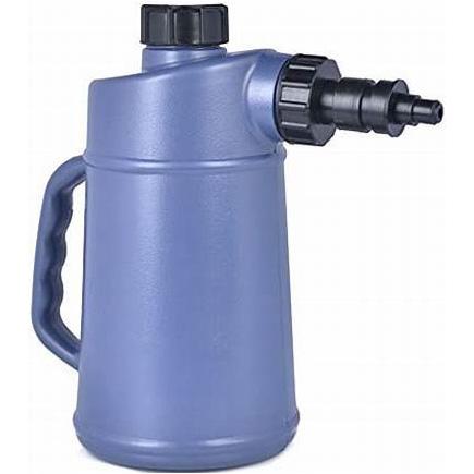 Auto Shut Off 2 Quart Golf Cart / Deep Cycle Battery Plastic Jug Water Filler Bottle
