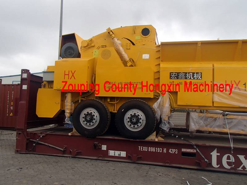 ISO CE certification biomass crusher