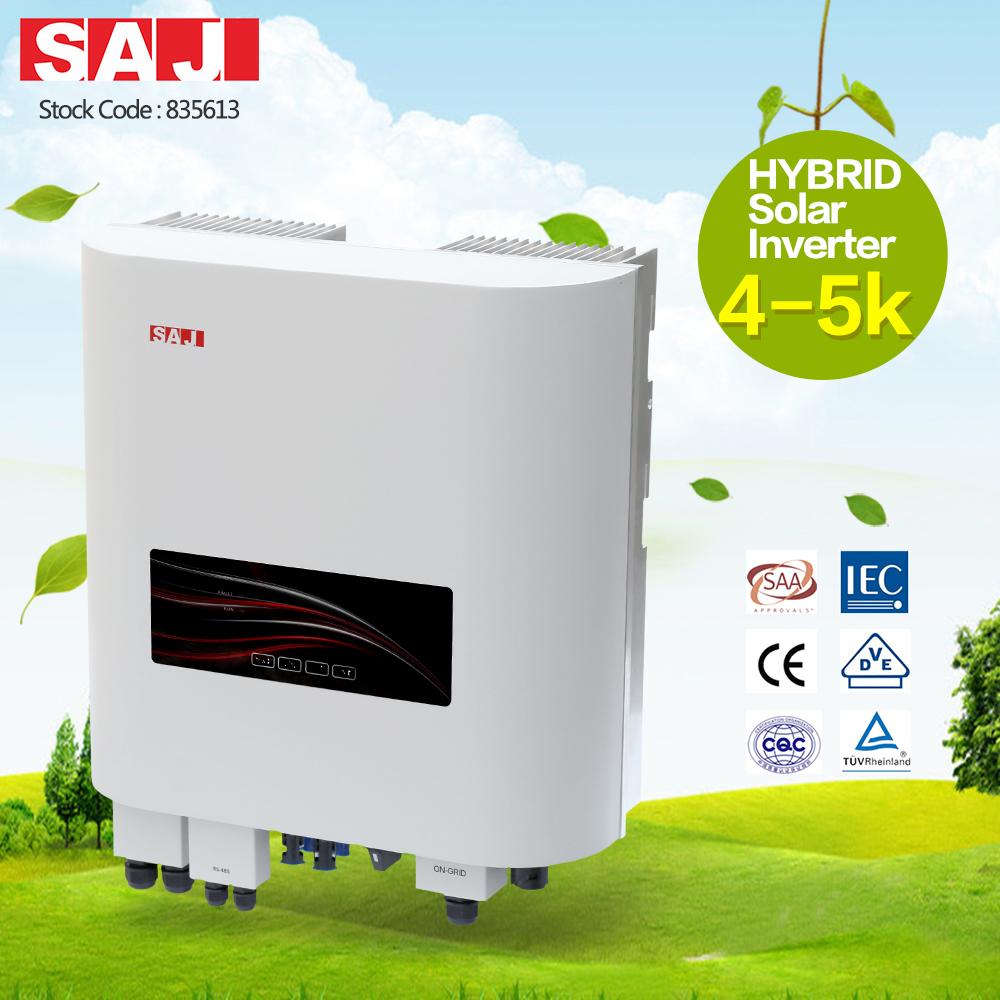 SAJ Increase Self Use Rate of PV Generation 5Kva Solar Inverter
