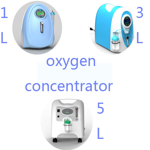 Medical use oxygen concentrator with FDA and CE certificate in Chia 1-5L adjustable