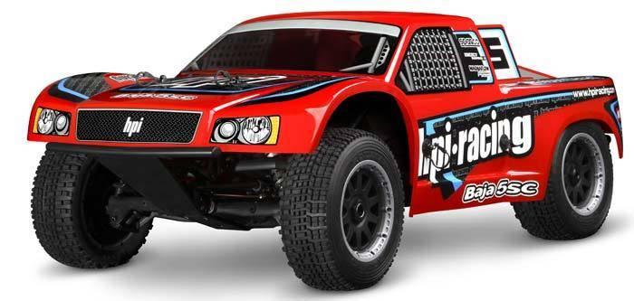 HPI Racing 1 - 5 Baja 5SC 2.4GHz RTR Red NIB