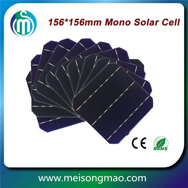 6inch solar cell high efficiency mono solar cell made in Taiwan
