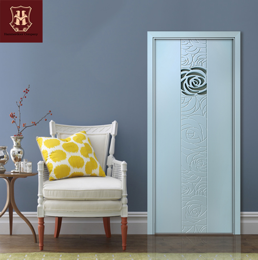 HONMAX modern fashion colorful interior door concise house room door