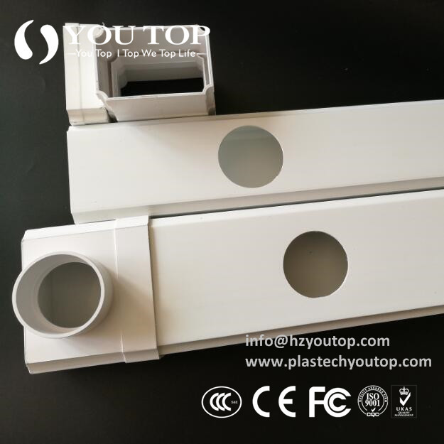 Hydroponic PVC Pipe Model:Rectangle Pipe 12070mm
