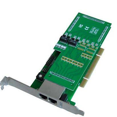 TE230 Asterisk Dual Span 2 Port E1/T1 PCI Card
