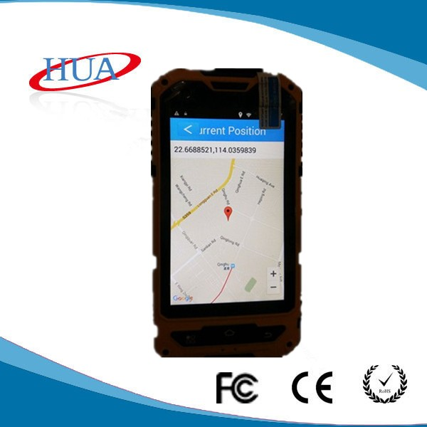 GPS positioning GPRS real time guard tour system