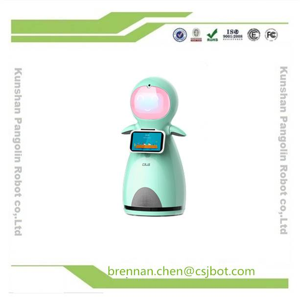 Snow baby Interactive robot for home service cute robot for kids