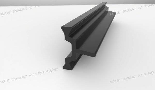 Polyamide 66 thermal break profile inserted in aluminium window profile