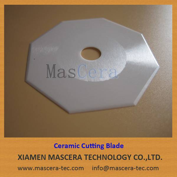 Zirconia ZrO2 Ceramic Cutting Blade