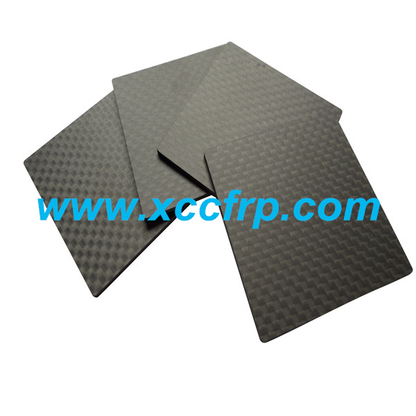High quality 3K Twill matte Size 400500mm Prepreg carbon fiber plate 8mm
