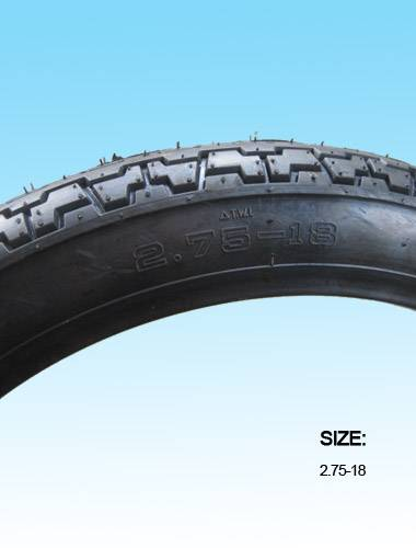 Tubeless Motorcycle Tires 2.75-18