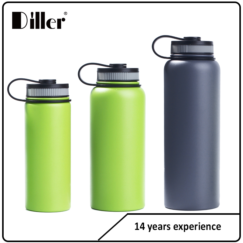 Safety 26oz stainless steel water bottle with wide mouth vacuum insulated cup