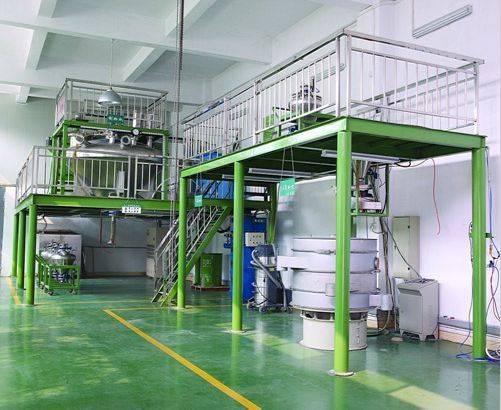 Solder powder atomizing plant