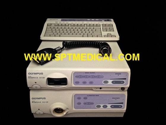 Gastroscope System Olympus CV-180 CLV-180 GIF-H180