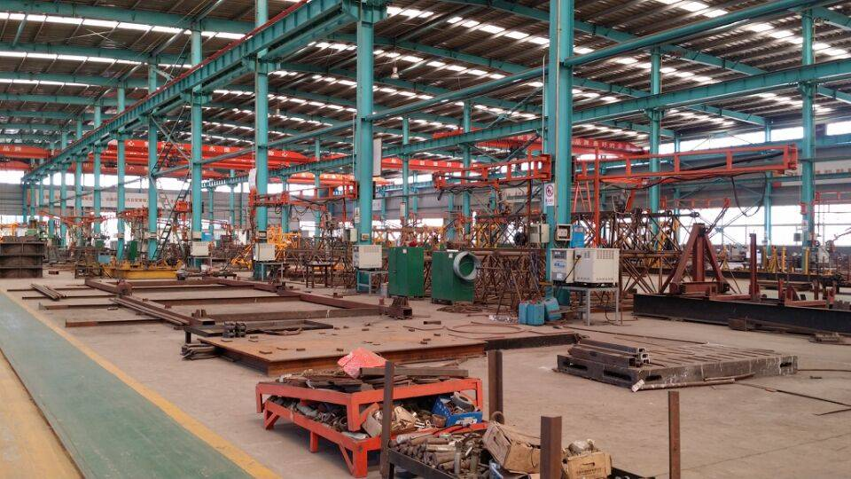 high effiency moving tower crane low price Shandong manufacturer