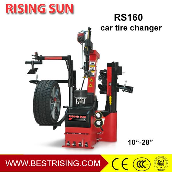 Double bending automatic tyre changing machine