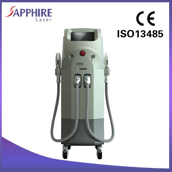Advanced vertical SHR IPL skin rejuvenation and hair removal machine