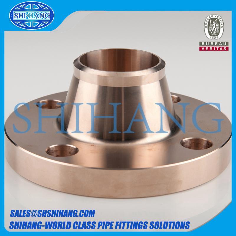 copper nickel cuni 90/10 c70600 weld neck flange