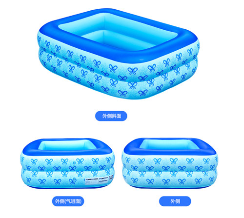 110CM Inflatable Children padding Pools