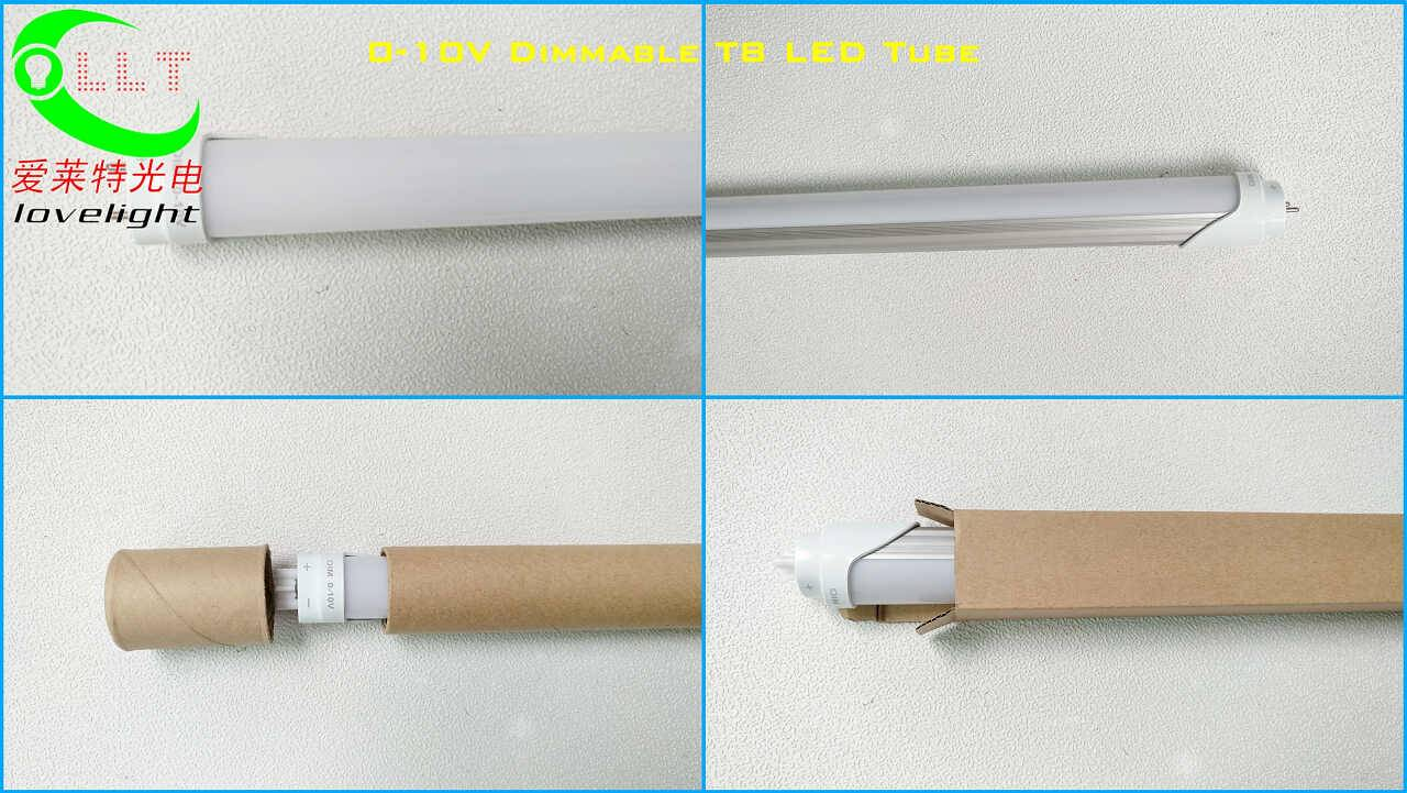 0-10V Dimmable T8 LED Tube 1200mm 4FT 18W