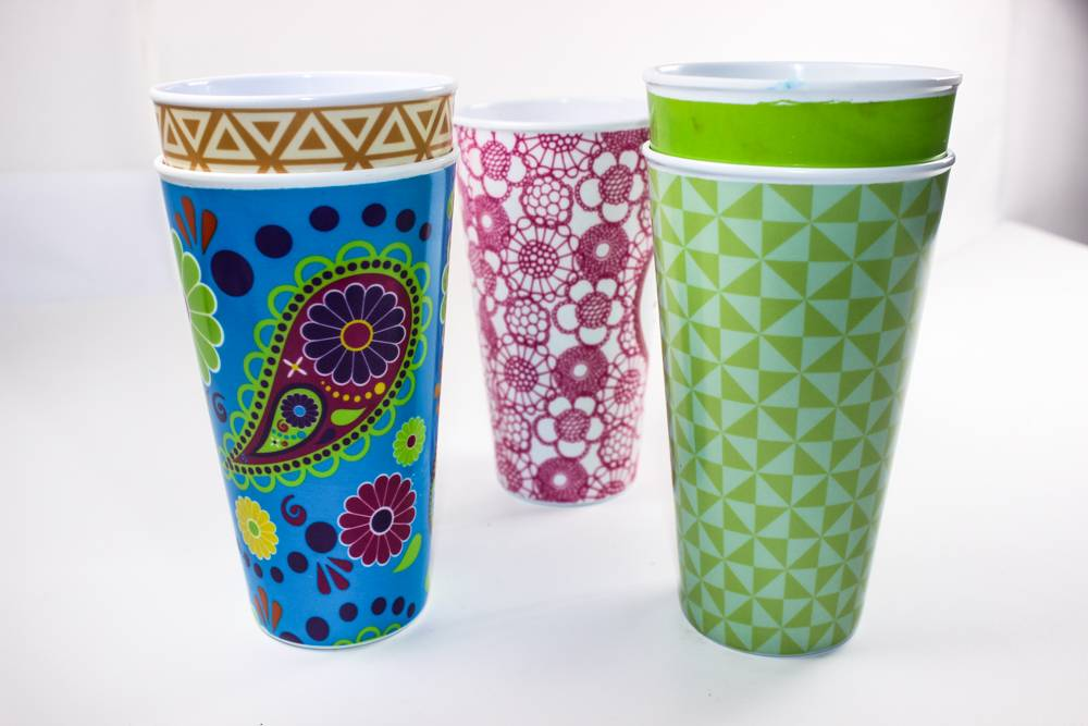 3.5'' stright melamine cup