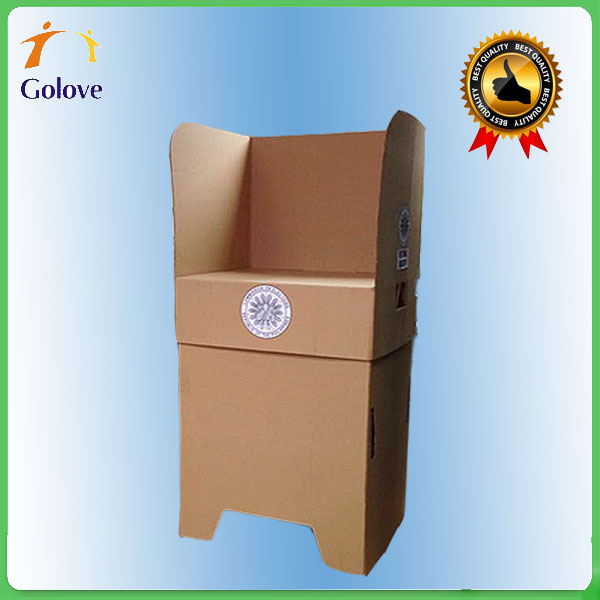 Best-quality Cardboard Voting Table Polling Booth