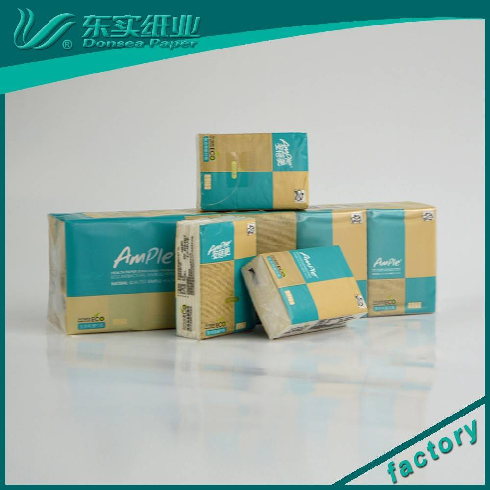 Dust-free 3 Layers 10 Packs Mini Pocket Tissue/Handkerchiefs/Small Facial Tissue