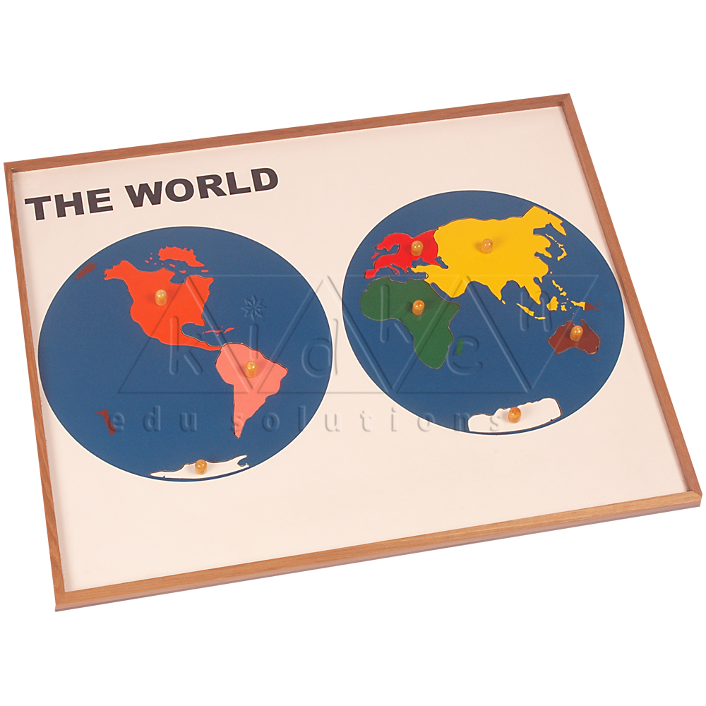 G004-Map Puzzle: World