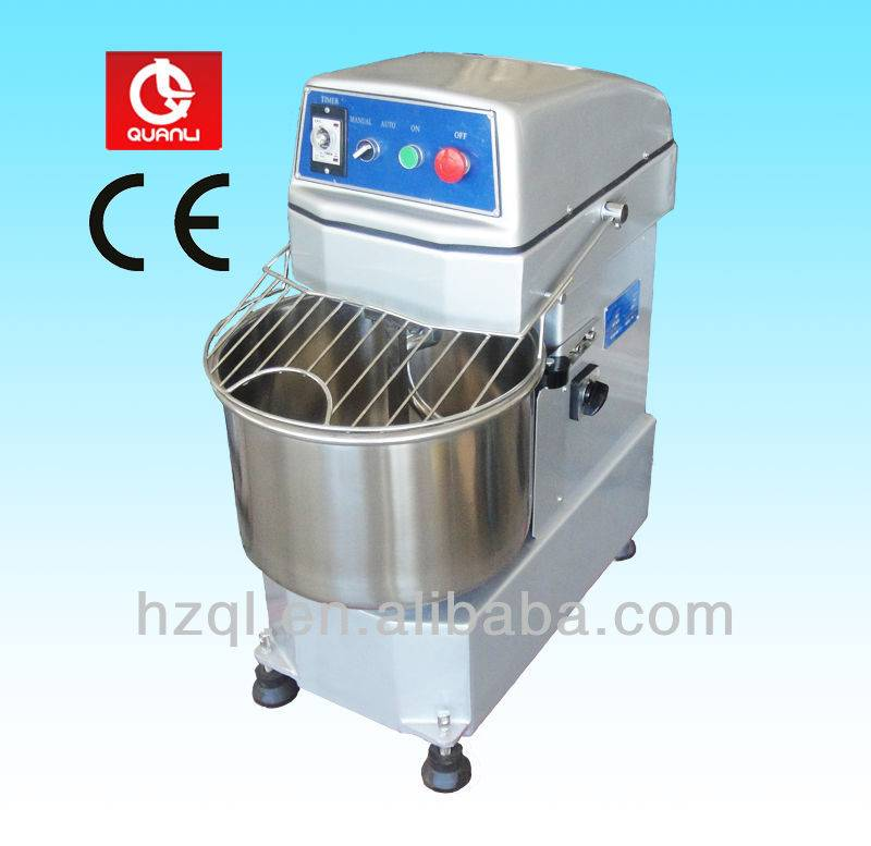 30L spiral mixer/food mixer with double motion