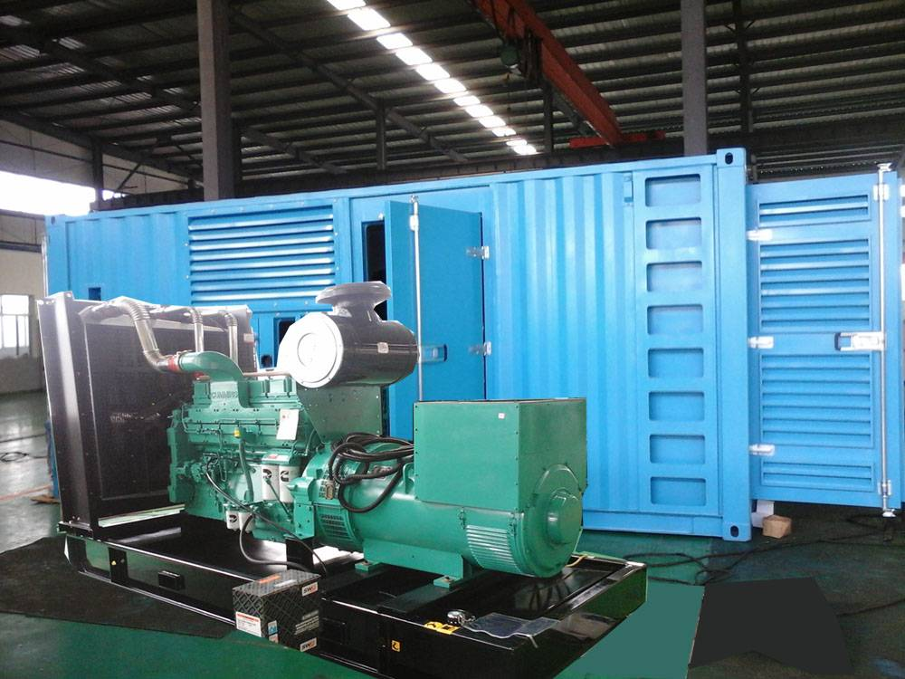 soundproof Cummins Diesel Generator 500KVA / 400KW by KTA19-G3A in container house
