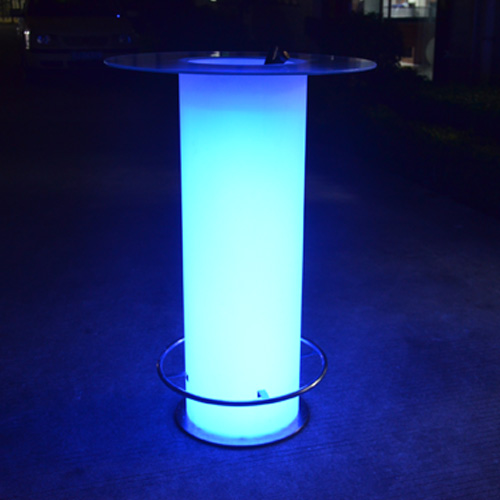 Colors Changeable Battery Operated Rechargeable Modern High LED Table