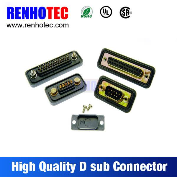 PC Accessories-Dip Solder 2-PACK 180 Degree Male and Female 9 15 25 Pin D-Sub Connector
