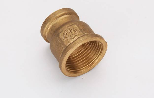 CNC precision machining brass fitting/high quality brass compression pipe fitting