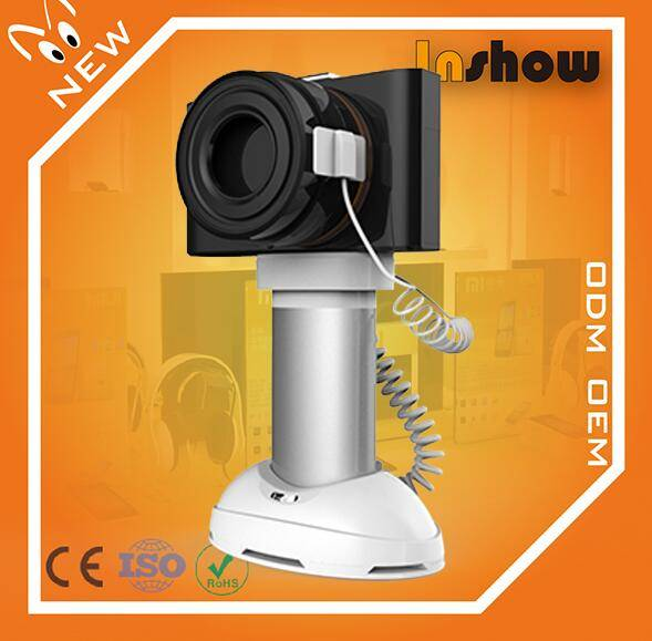 High quality security display holder with alarm for camera