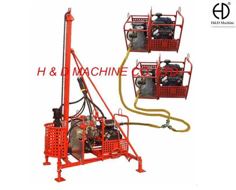 HD-40 MAN PORTABLE DRILLING RIG