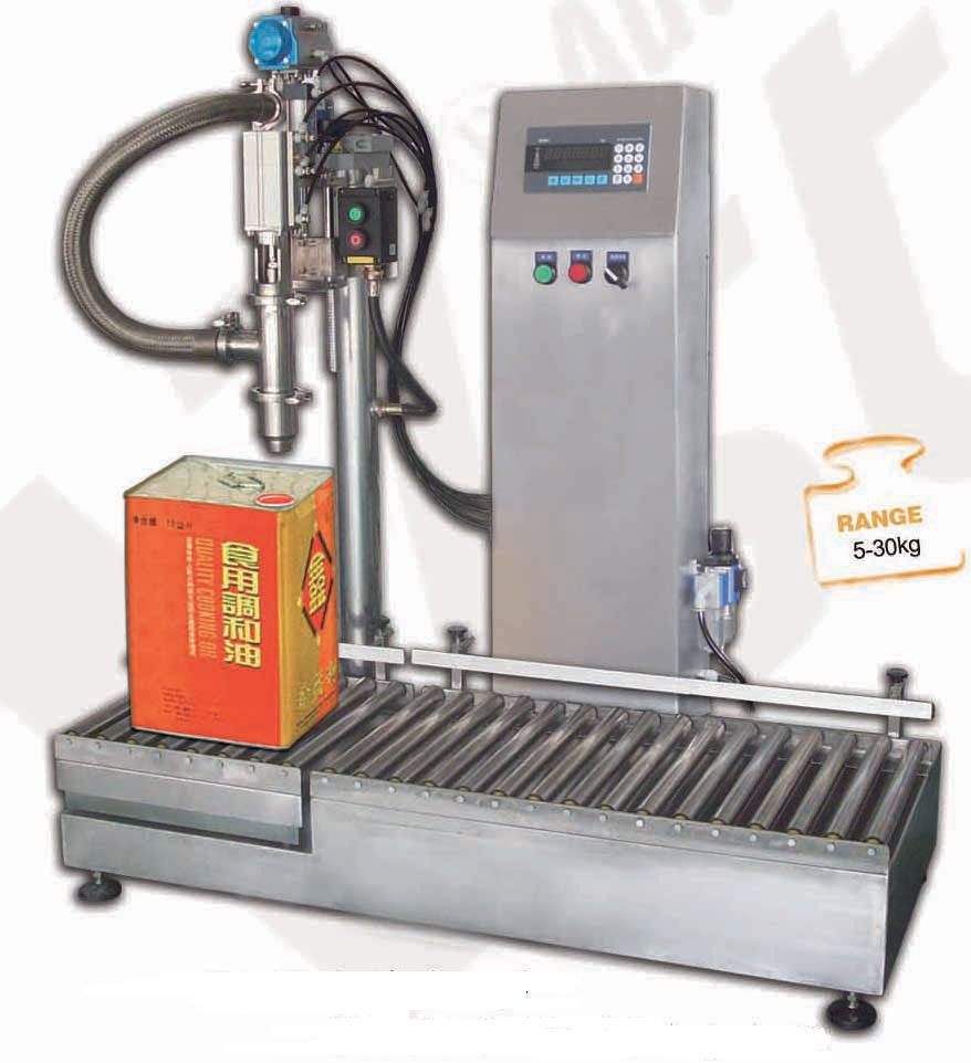 liquid filler oil filling machine