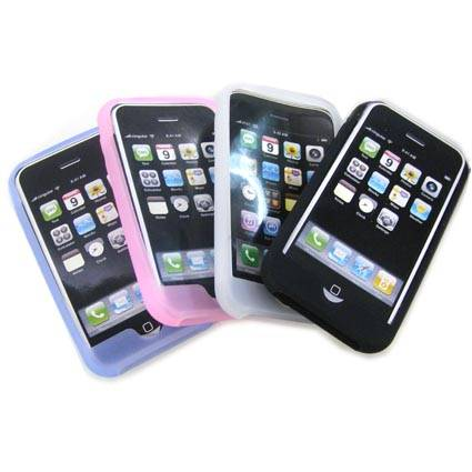 Shockproof Silicone Skin Case for Apple iPhone 3G