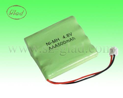 aaa 500mah 1.2v ni-mh rechargeable battery for toys