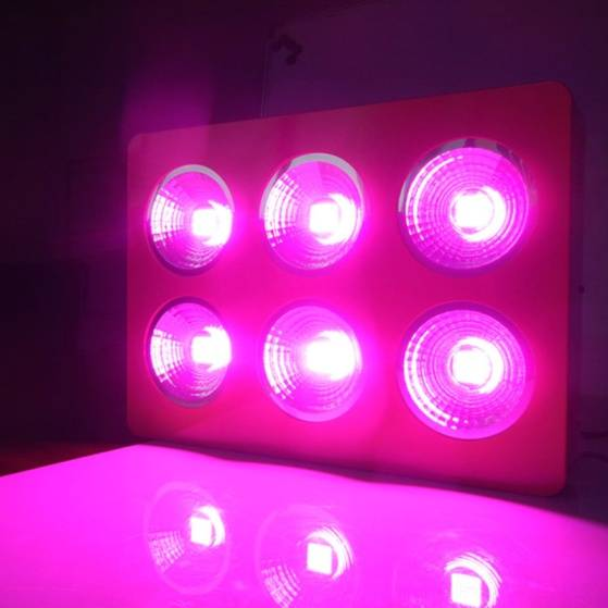 1200w Double lens Chips LED Grow Light 410-730nm Full Spectrum LED Grow Lights For Indoor Plants Flo