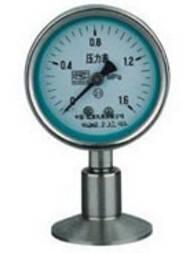 Y-100BFZ/Z/MC sanitary diaphragm pressure gauge