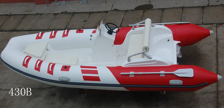430cm rigid inflatable boat RIB430B yacht tender