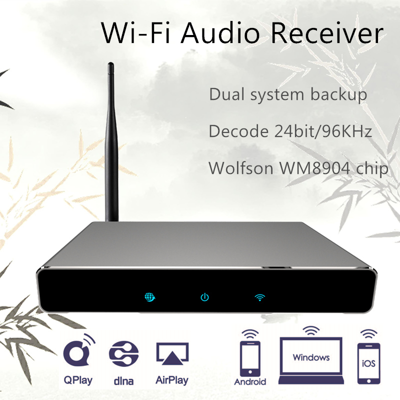 Wifi Audio Receiver Wireless music Player Airmusic P2