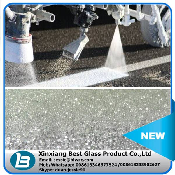 Micro glass beads for road marking paint beads coating for rainy weather
