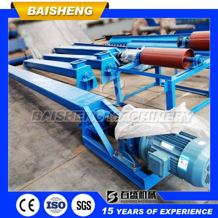 Baisheng 2016 New Condition LS Trough Shaped Sand Screw Feeder,Spiral screw conveyor