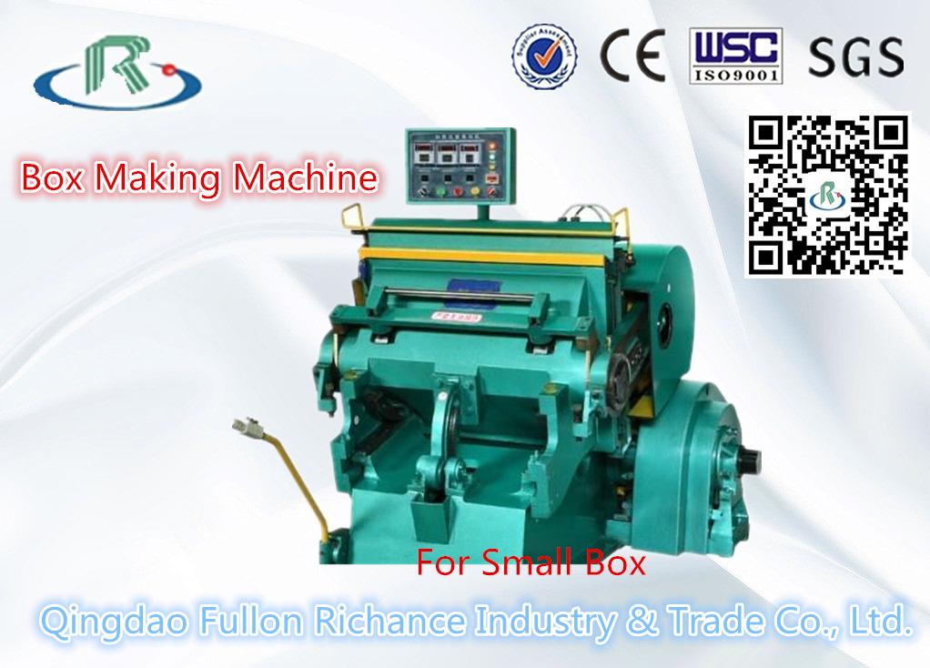 Platen Carton Box DIE Cutting Machine (Creasing)